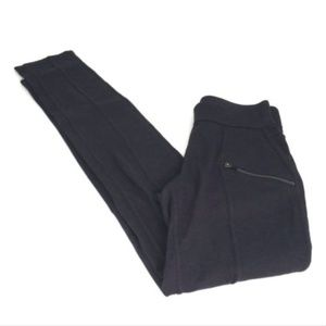 Athleta XXS Gray Zip Ankle Skinny Legging Pants *